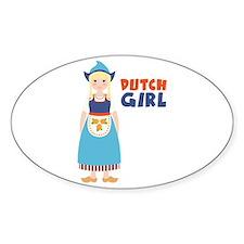 DUTCH GIRL Decal