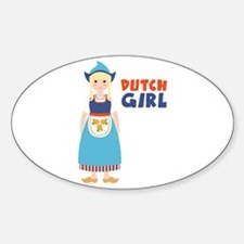 DUTCH GIRL Decal