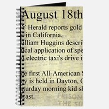 August 18th Journal