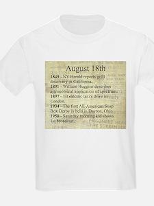 August 18th T-Shirt