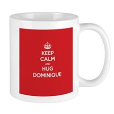 Hug Dominique Mugs