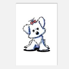 Girlie Maltese Postcards (Package of 8)