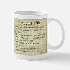 August 17th Mugs