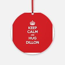 Hug Dillon Ornament (Round)
