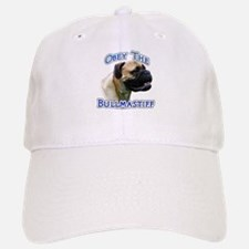 Bullmastiff Obey Baseball Baseball Cap