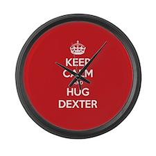 Hug Dexter Large Wall Clock