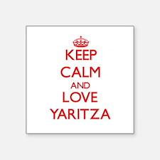 Keep Calm and Love Yaritza Sticker