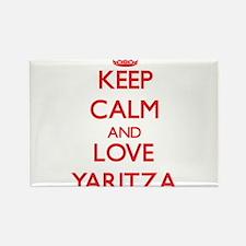 Keep Calm and Love Yaritza Magnets