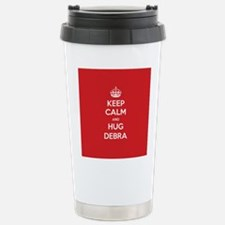 Hug Debra Travel Mug