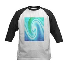 Abstract wave Baseball Jersey