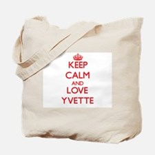 Keep Calm and Love Yvette Tote Bag