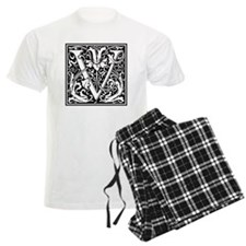 Decorative Letter V Pajamas