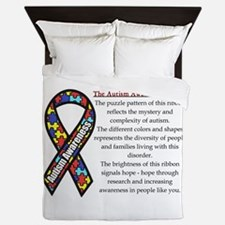 Ribbon meaning.png Queen Duvet