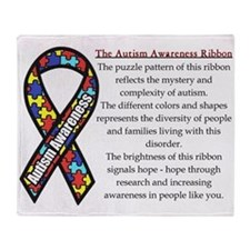 Ribbon Meaning.png Throw Blanket