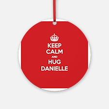 Hug Danielle Ornament (Round)