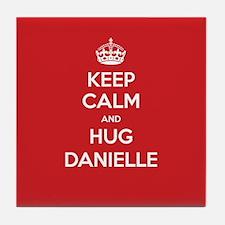 Hug Danielle Tile Coaster