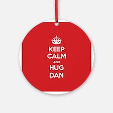 Hug Dan Ornament (Round)