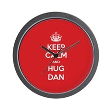 Hug Dan Wall Clock