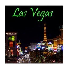 Las Vegas Strip Tile Coaster