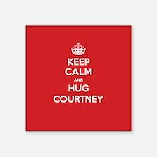 Hug Courtney Sticker
