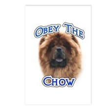 Chow Obey Postcards (Package of 8)