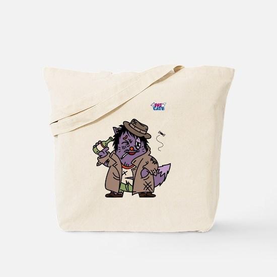 TRAMPY CAT Tote Bag