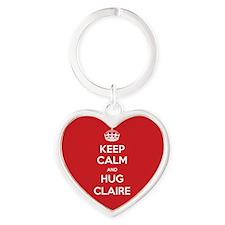 Hug Claire Keychains