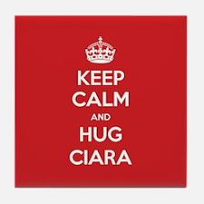 Hug Ciara Tile Coaster