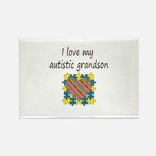 I love my autistic gran Rectangle Magnet (10 pack)