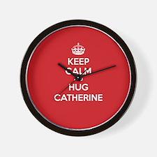 Hug Catherine Wall Clock