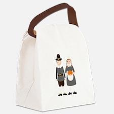 Pilgrims Canvas Lunch Bag