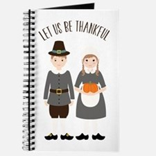 Let Us Be Thankful Journal