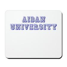 Aidan University Mousepad