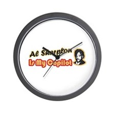 Al Sharpton CoPilot Wall Clock