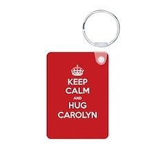 Hug Carolyn Keychains