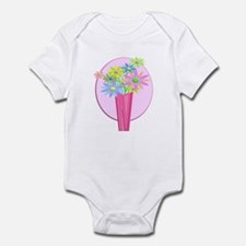 Pastel Flowers Infant Bodysuit