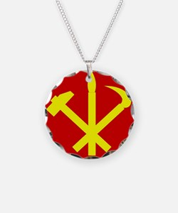 Korean Workers Party Necklace