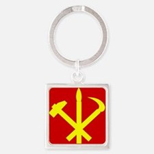 Korean Workers Party Keychains