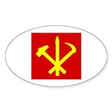 Korean Workers Party Decal