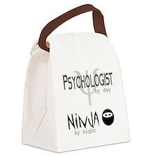 2-PsychNinja.jpg Canvas Lunch Bag
