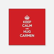 Hug Carmen Sticker