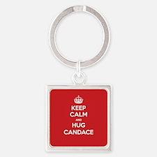 Hug Candace Keychains