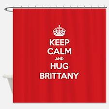 Hug Brittany Shower Curtain