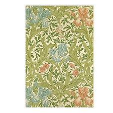 William Morris Iris Postcards (Package of 8)
