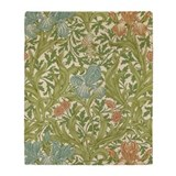 William morris Fleece Blankets
