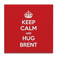 Hug Brent Tile Coaster