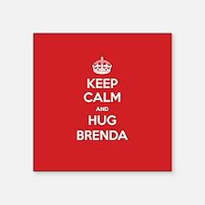 Hug Brenda Sticker