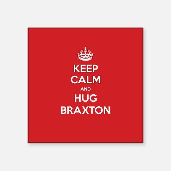 Hug Braxton Sticker