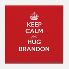 Hug Brandon Tile Coaster