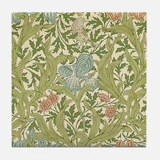 William Morris Iris Tile Coaster